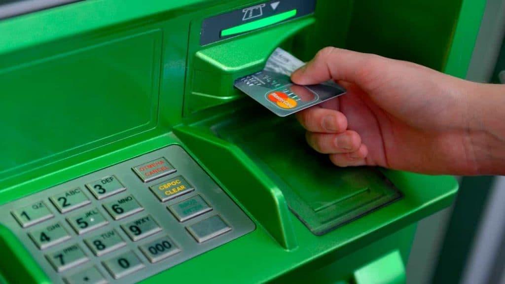 Оплата мобильной связи в банкомате